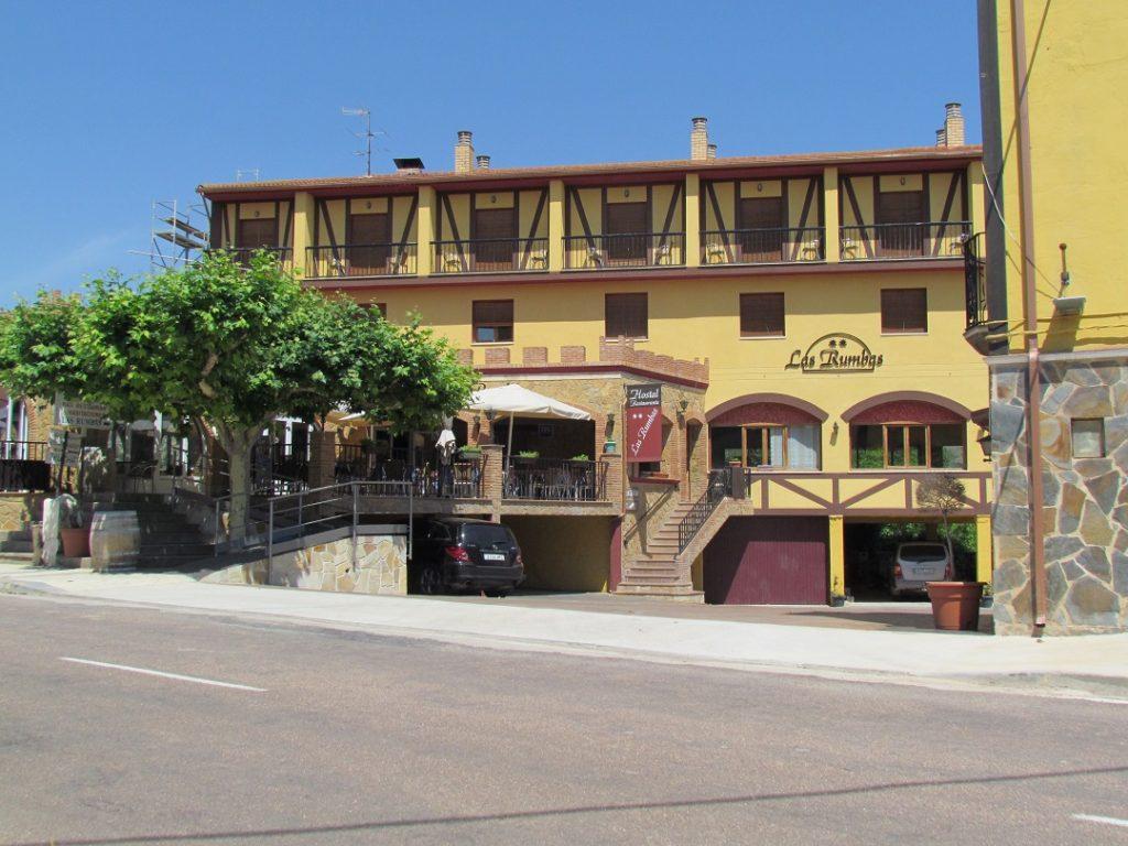 Hostal Restaurante Las Rumbas en Nuévalos