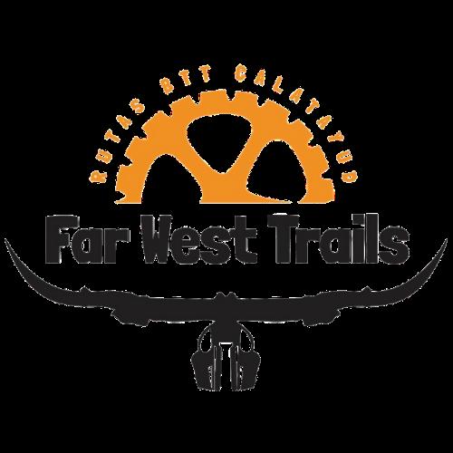 Logo far west trails calatayud