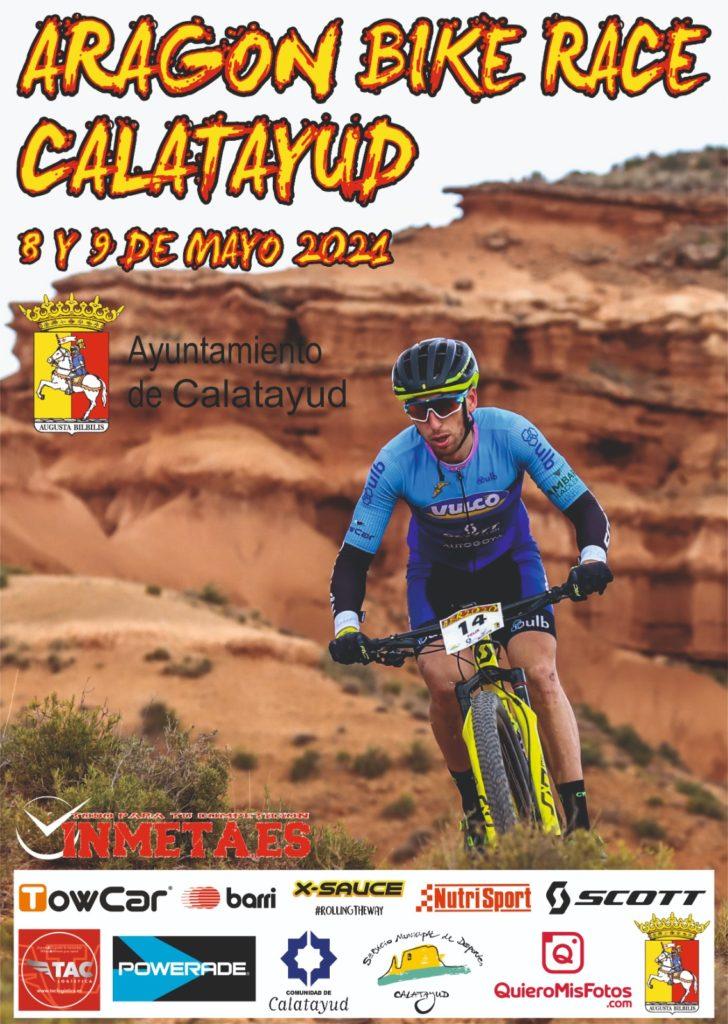 Cartel de la Aragón Bike Race 2021